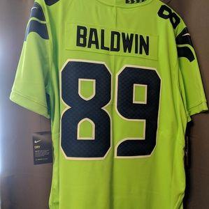 Official NFL Nike On field Seahawks, Doug Baldwin